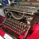 World War II KANA typewriter used at Station Hypo