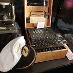 Enigma machine variation - German U Boat machine added special 4th rotor to increase code variat