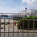 Sandown Pier outside the Cafe
