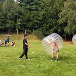 Getting ready for Bubble Football