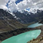Amazingly tough but worth it the trek to Siula Pass via the three lakes