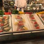 seafood options.