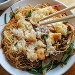 Fried noodles at Little SaPa Restaurant