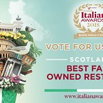 please Vote for us in the Italian awards