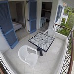3 X 2.8  metre balcony on all 1 bedroom apartments