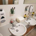 Spotless toilets