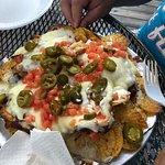 """The """"regular"""" size nachos"""