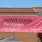 Cook Exhibition banner