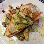 Our Brill dish using locally sourced ingredients from West Cork