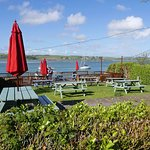 The Lifeboat Inn waterfront garden