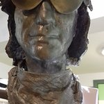 Sculpture of Jeff Beck