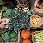 We stock a fresh selection of locally sourced vegetables
