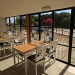 The 50 seater tearoom overlooks a superb rural view