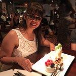 The dessert tasting dish, great presentation and flavor.