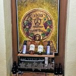 Inside Val Verde Winery
