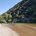 Canoe Roquebrun Foto