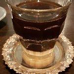 Kaffe smaka innan du rör