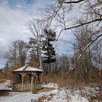 Duke Farms - Gazebo on a snowy day