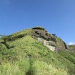 Steep slope of Reiek Mountain