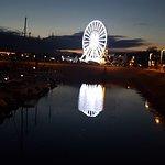 La grande roue du port Crouesty de nuit !