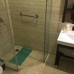 Bathroom. Just Showers and no Bath Tub