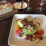 Bread and Wedge Salad (split for 2 people)