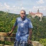Punkt widokowy na zamek Książ
