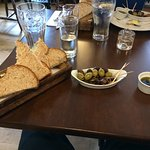 olives, oil and balsamic, and crusty bread!