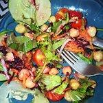 Salada à mulata, estava boa