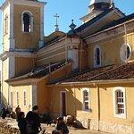 Vista lateral da igreja