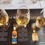 Whiskey tasting at Great Southern