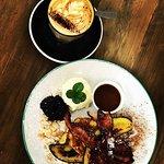 French Toast and Coffee...winning combo at Scope Rotorua.