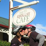 Kissing gate cafe Middlemarch, Central Otago, New Zealand