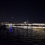 Golden horn at night