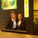 Friendly smiles welcome you to Hilton