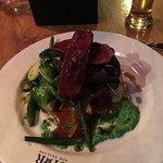 The John Deer (venison dish), superb.