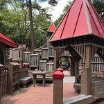 Ben's Red Swings Community Playground