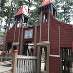 Castle Playhouse at Ben's Red Swings Community Playground