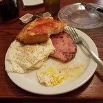 Ham & Egg Plate.