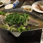 Steamed fish was fresh