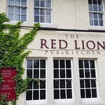 The pub front and signage