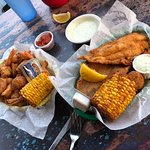 Baskets.... that fried corn is yum!!