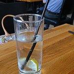 Water & Slice of Lemon