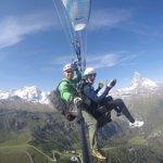 Parasailing og paragliding