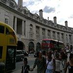 detalle de la curva majestuosa de Regent Street