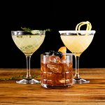 Ten Thyme Smash, Island Old Fashioned, Lemon Drop