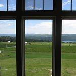 From the tasting room - view of Lake Keuka