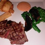 Steak at the Terrace