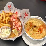 Lobster Roll & Mac & Cheese