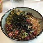 Tuna poke bowl. Amazing!